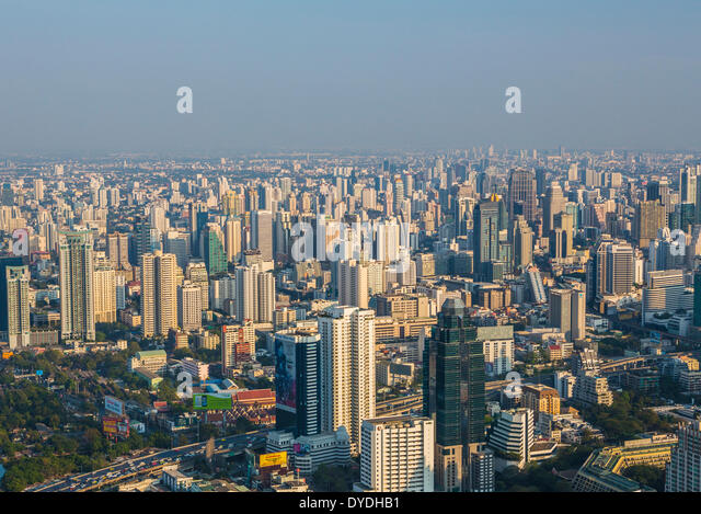 architecture, central, city, domes, golden, metropolis, panorama, skyline, skyscrapers, sunset, travel, wide, buildings, - Stock Image