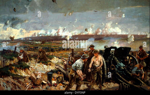 Battle of Courcelette. - Stock Image
