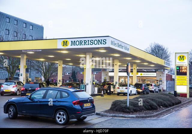 Morrisons Petrol Station Car Wash