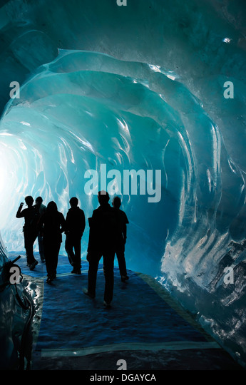 ice tunnel stock photos ice tunnel stock images alamy. Black Bedroom Furniture Sets. Home Design Ideas