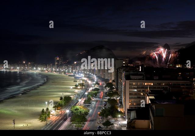 Rio de Janeiro city Brasil Brazil - Stock Image
