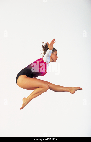 Sport Gymnastics - Stock Image