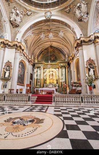 The Church Santo Domingo, Lima, Peru, South America - Stock Image