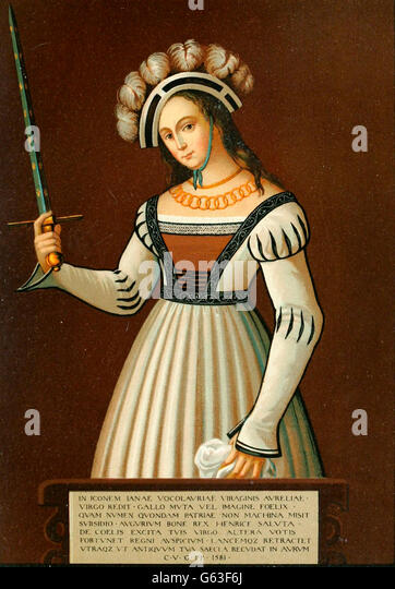 the maid of orleans joan of arc Divine voices guided the young farm girl joan of arc to lead the french against the english burned as a heretic in 1431, the maid of orléans was both shaped and.