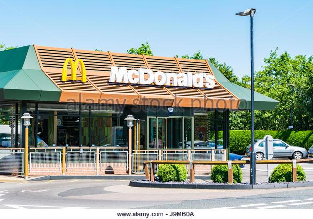 Outside Mcdonalds Uk Stock Photos & Outside Mcdonalds Uk ...