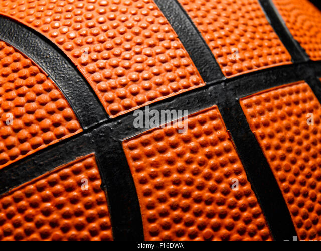 Single Basketball - Stock Image