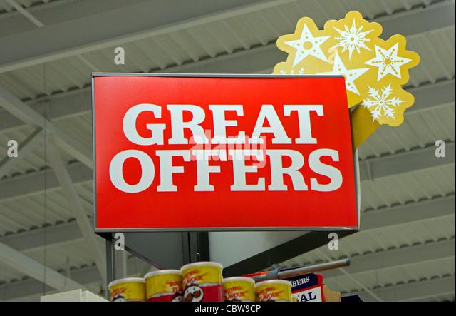 supermarket advertising stock photos supermarket. Black Bedroom Furniture Sets. Home Design Ideas