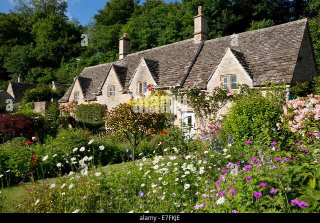 Cottage Garden Uk Stock Photos Cottage Garden Uk Stock