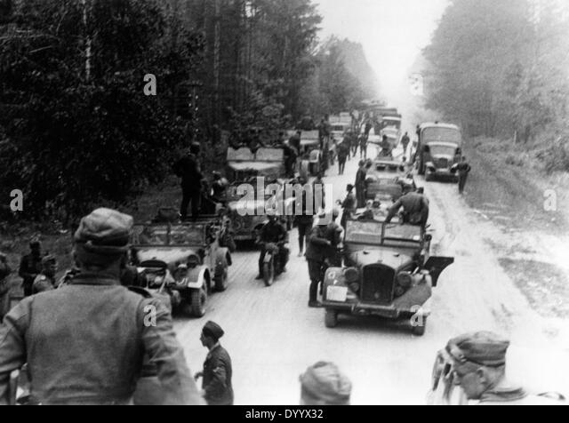 Beginning of the attack in Russia, 22/06/1941 - Stock Image