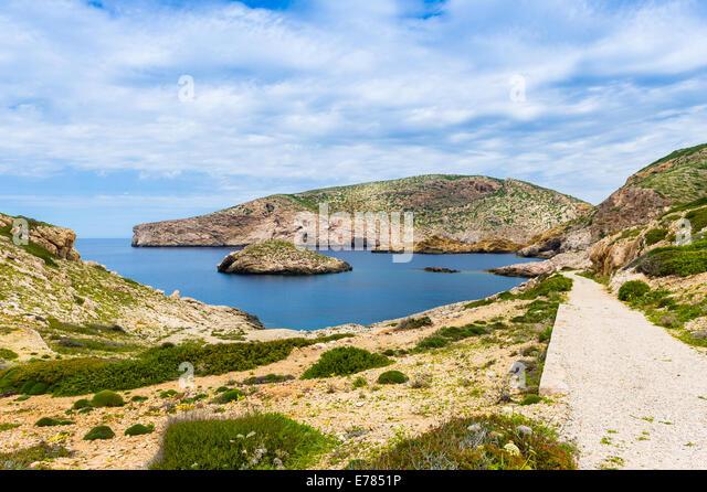 Balearic island - Stock Image