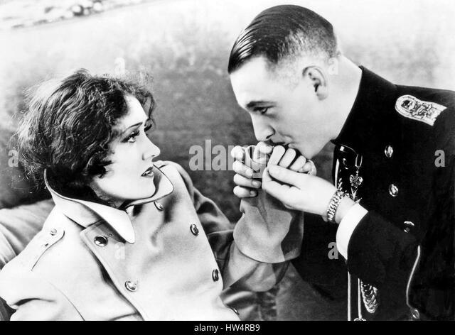 QUEEN KELLY 1929 United Artists film with Gloria Swanson and Eric von Stroheim - Stock-Bilder