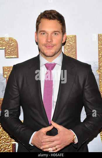 New York, NY- September 19: Chris Pratt attends the 'The Magnificent Seven' New York premiere at Museum - Stock-Bilder