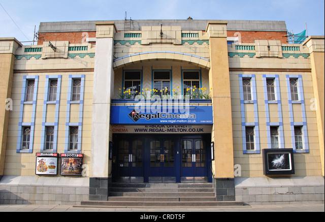 Regal Cinema, King Street, Melton Mowbray, Leicestershire, England, UK - Stock Image