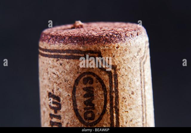 diam cork - Stock Image