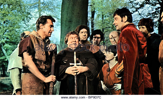 LEON GREENE JAMES HAYTER & BARRIE INGHAM A CHALLENGE FOR ROBIN HOOD (1967) - Stock Image