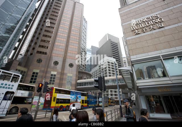 Old Chartered Bank Building Hong Kong