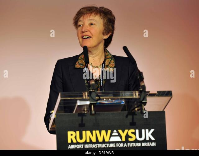 Runways UK conference, London. Britain, UK. Baroness Jo Valentine...Runways UK conference - Stock Image