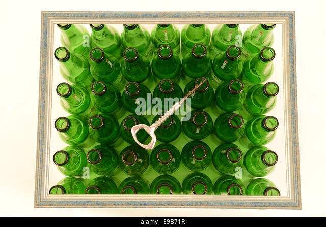 Bottle beer heineken stock photos bottle beer heineken for Beer bottle picture frame