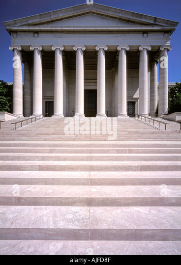 National Gallery of Art in Washington D.C. - Stock Image