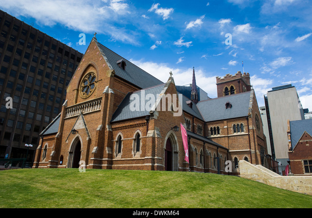 St. George's Cathedral, Perth, Western Australia, Australia, Pacific - Stock Image