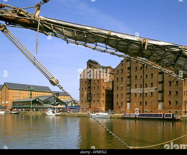 GB - GLOUCESTERSHIRE:  Historic Gloucester Docks - Stock Image