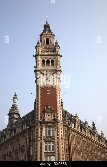 Lille france stock photos lille france stock images alamy for Chambre de commerce de paris