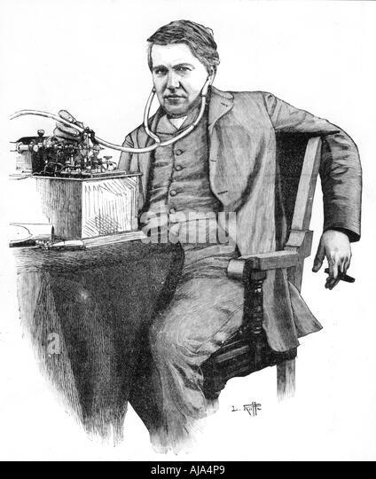 The Life and Works of Thomas Alva Edison