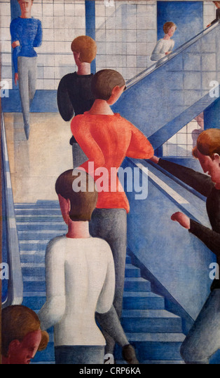 an analysis of oskar schlemmers bauhaus staircase in the museum of modern art in new york Bauhaus exhibition draws huge crowds in berlin afp  oskar schlemmer's bauhaus staircase painting of 1932 - which has not left the museum of modern art in new york (moma) as it is the object.