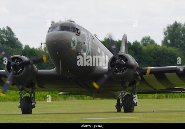 Douglas C-47 Dakota - Stock Image