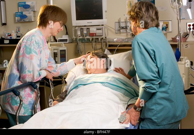 Queen Elizabeth Hospital, Charlottetown Prince Edward Island - Stock-Bilder