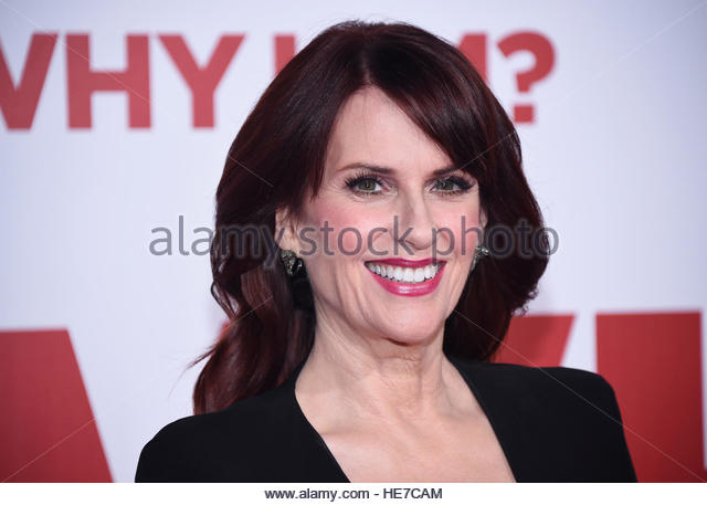 Cast member Megan Mullally attends the premiere of 'Why Him?' in Los Angeles, California, U.S. December - Stock-Bilder