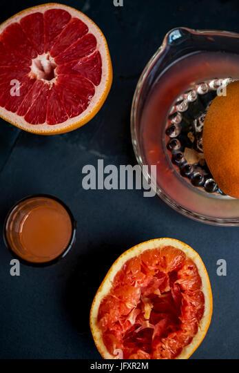orange juice - Stock Image