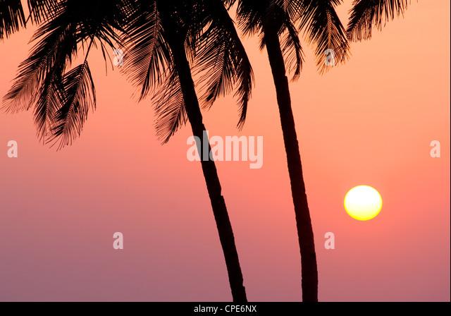 Agonda Beach, Goa, India, Asia - Stock-Bilder
