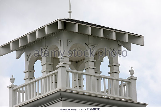 Indiana Porter Porter Town Hall local government turret tower architecture cupola - Stock Image