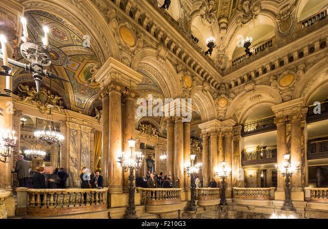 France, Paris, Opera Garnier - Stock Image