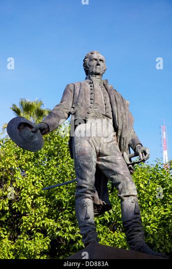 Jose Gervasio Artigas Monument, Plaza Uruguay, Asuncion, Paraguay, - Stock Image