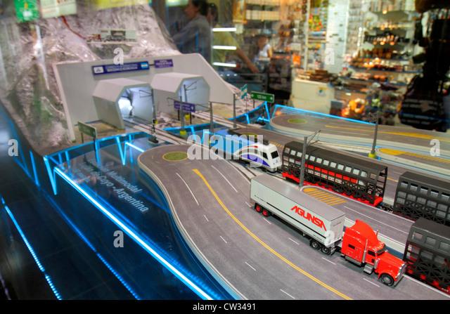 Argentina Mendoza El Plumerillo Aeropuerto Internacional Gobernador Francisco Gabrielli y El Plumerillo MDZ International - Stock Image