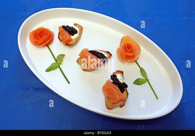 Imaginative food stock photos imaginative food stock for Canape de caviar