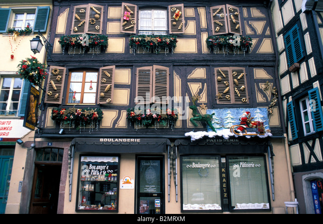 france alsace colmar christmas decorations stock photos france alsace colmar christmas. Black Bedroom Furniture Sets. Home Design Ideas