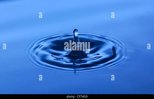 Frozen Time. Water. - Stock-Bilder