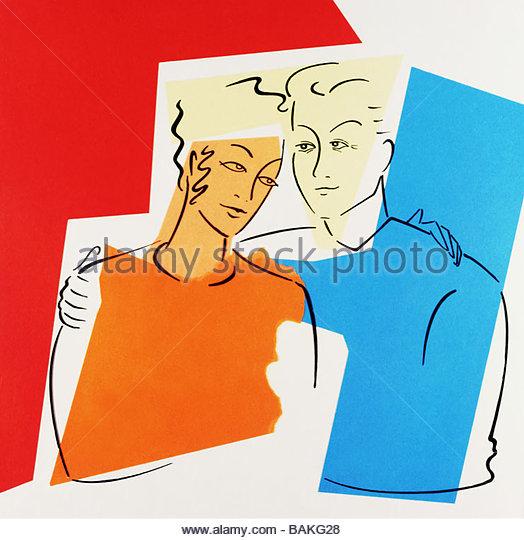 Togetherness - Stock-Bilder
