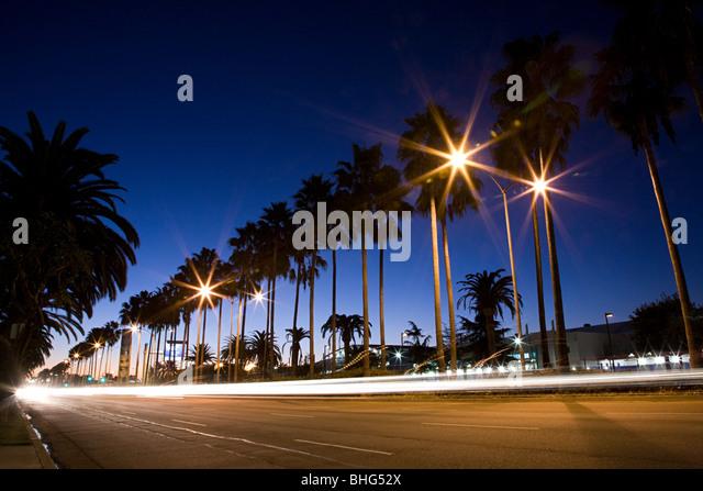 Century boulevard los angeles - Stock Image