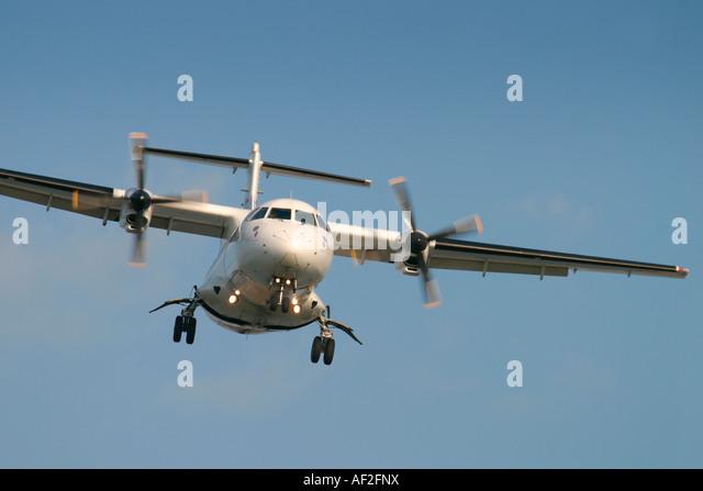 Propeller airplane - Stock Image