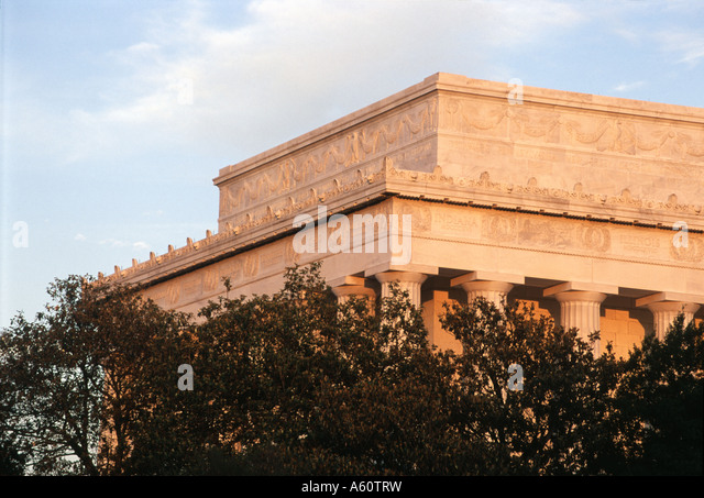 Lincoln Memorial, Washington D.C. - Stock Image