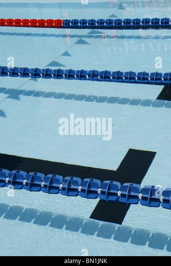 Olympic swimming pool length stock photos olympic swimming pool length stock images alamy - Olympic swimming pool lanes ...