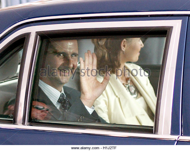 Syrian President Assad Wife Asma Stock Photos & Syrian ...