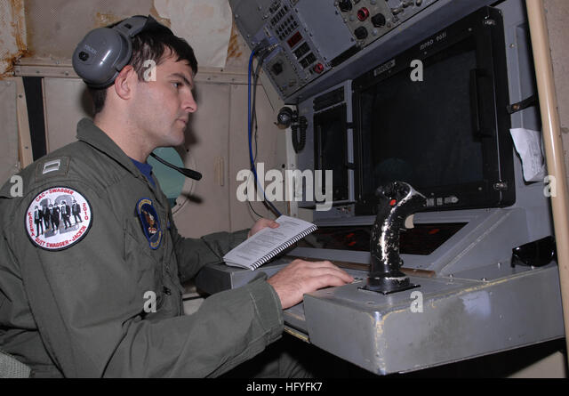 101028-N-8623S-041 MISAWA, Japan (Oct. 28, 2010) Lt. Sean O'Neill, tactical coordinator of Patrol Squadron (VP) - Stock Image