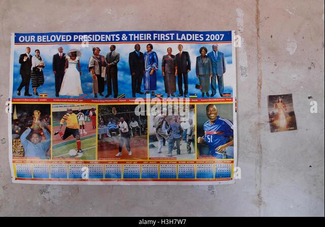 Calendar Uganda : Drc politics stock photos images alamy