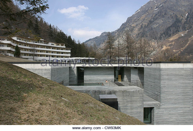Vals thermal spa stock photos vals thermal spa stock for Therme vals vals svizzera