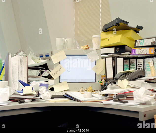 Messy Office: Messy Desk Stock Photos & Messy Desk Stock Images